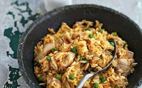 Ken Hom's Chicken fried rice recipe