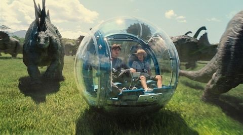 Jurassic World becomes first film to make $511m in record opening weekend