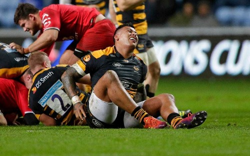 England duo Nathan Hughes and Joe Cokanasiga doubts for this weekend's Champions Cup matches