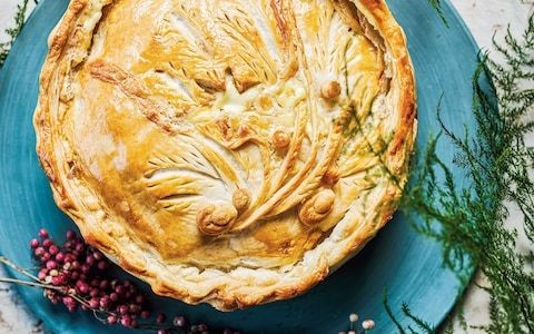 Cheese, onion and potato pie recipe