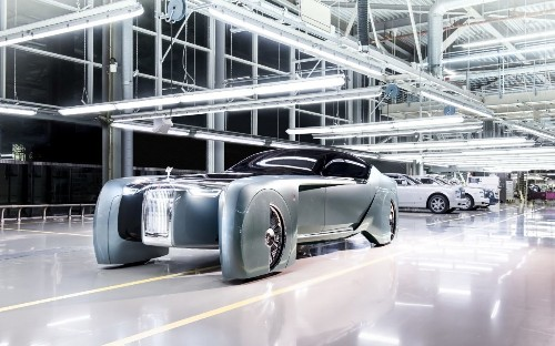 Rolls-Royce unveils the ultimate self-driving 20ft luxury concept car