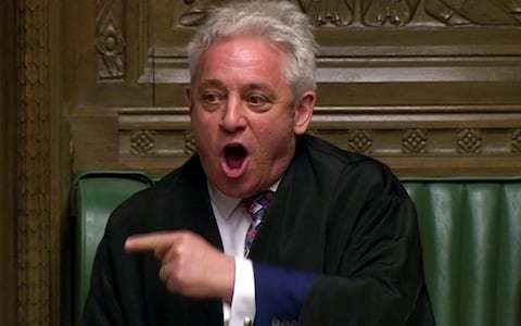 As Speaker John Bercow stands down today, here are his best memes
