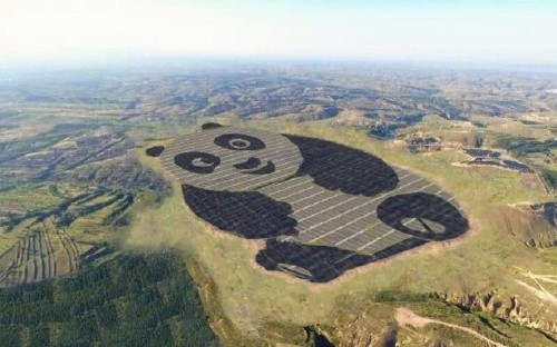 Panda power! China is building the world's cutest solar station