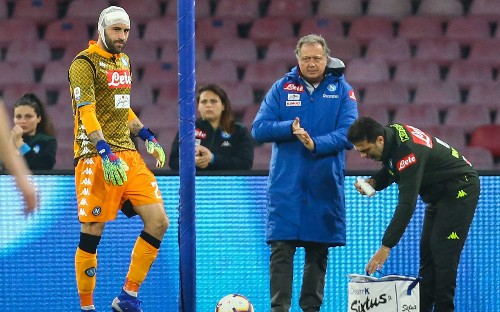 Fifa accused of 'negligence' over concussions after David Ospina collapses during Napoli match