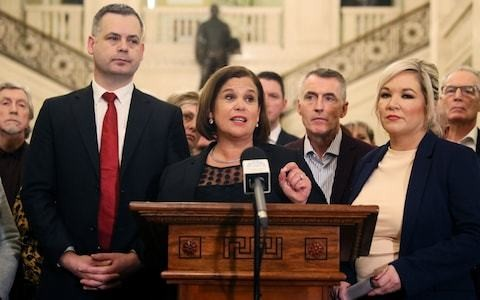 It is appalling that Sinn Fein, a party with its own paramilitary wing, is now accepted at the top table of politics