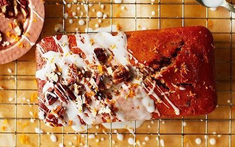 Pumpkin and pecan loaf recipe