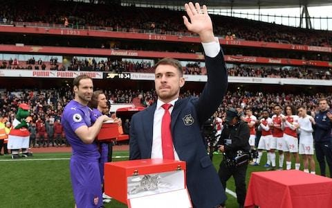 Arsenal's head of football Raul Sanllehi says club could not risk tipping salary balance to match Aaron Ramsey's 'incredible offers'