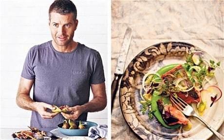 My favourite dish: Pete Evans's salmon with peas and radish salad