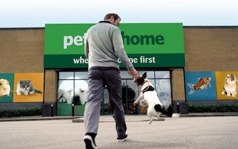 Pets at Home shares jump on better than expected results