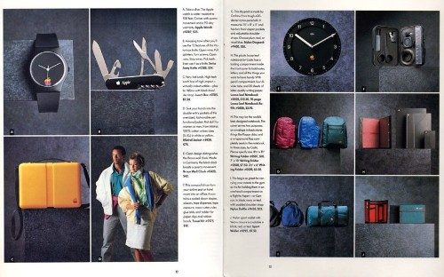 Step back in time with Apple's 1980s clothing catalogue