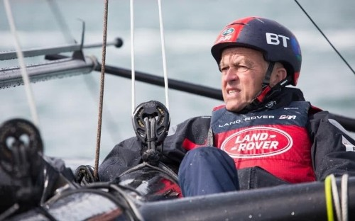 All-action ride on Ben Ainslie's America's Cup yacht left me worrying about my life insurance