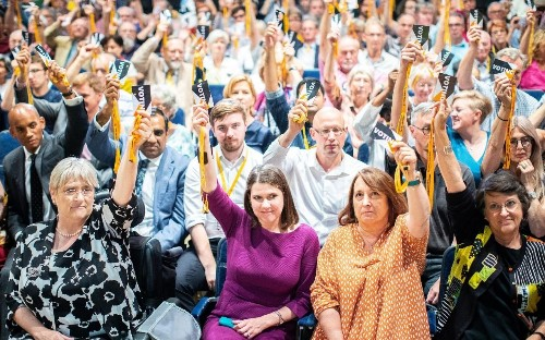 Racism row overshadows Liberal Democrats conference