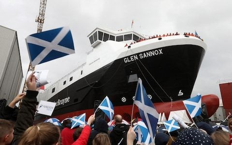 Two new ferries not even half built by nationalised shipyard after 'OK Corral' stand-off