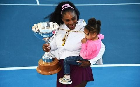 Serena Williams delight as she kicks off new season by ending three-year title drought
