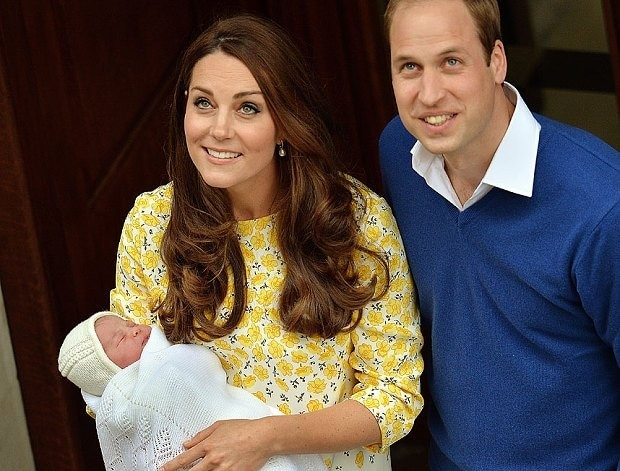 Royal baby girl: Kate Middleton gives birth to the Princess the nation had longed for