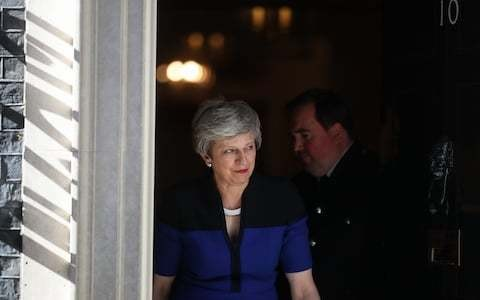 The pitiful Prime Minister who glued herself to Downing Street