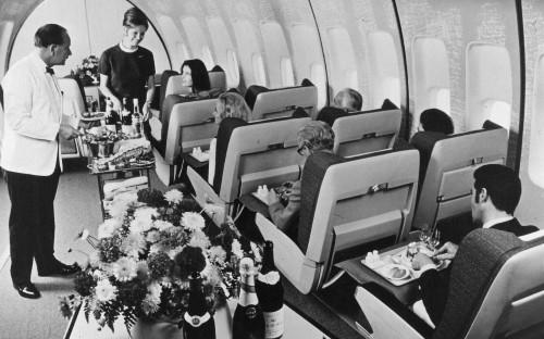 'My new husband took a free upgrade while I flew economy – I didn't mind'