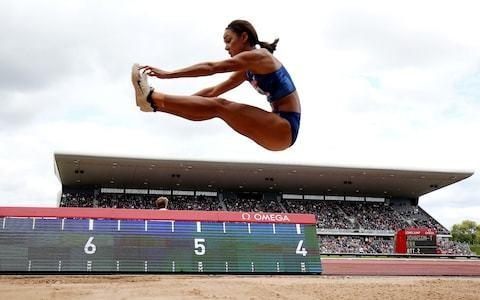 Nafi Thiam edges out Katarina Johnson-Thompson by just one centimetre in Birmingham Diamond League long jump
