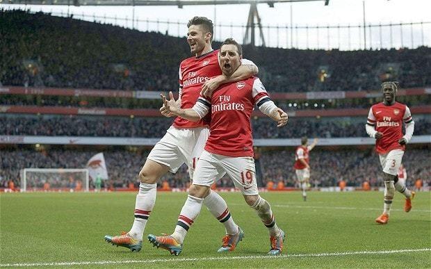 Arsenal 2 Fulham 0: match report