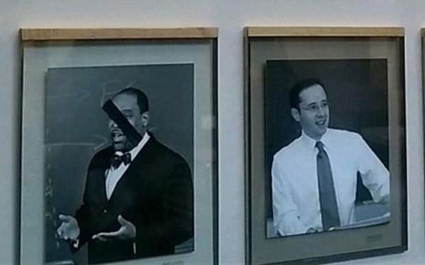 Portraits of black faculty members defaced at Harvard Law School