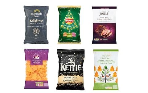 Who makes the best Christmas crisps? Victoria train station staff judge which brand is on the right track