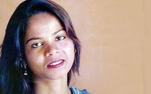 Asia Bibi flown to secret location after being freed from jail after eight years on death row for blasphemy