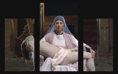 Bill Viola's Mary at St Paul's Cathedral is a compelling piece of modern art - review