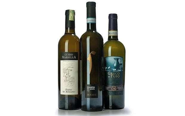 Wine tasting notes: Italian whites from Campania