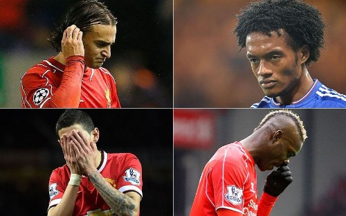 Last season's Premier League signings that proved to be disasters - Telegraph