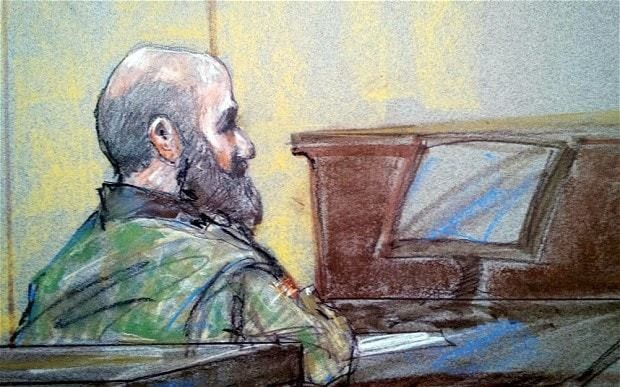 Fort Hood shooter Major Nidal Hasan found guilty of 13 counts of murder