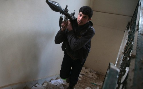 Syrian rebel groups freeze talks over planned peace negotiations as forces strain ceasefire with attacks near Damascus