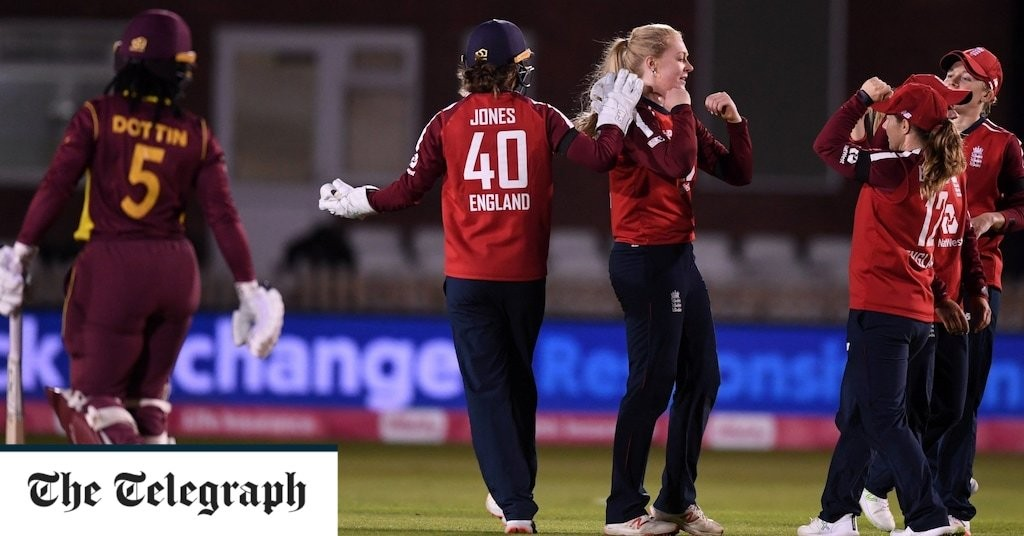 Sarah Glenn's all-round brilliance helps England beat West Indies by 47 runs again