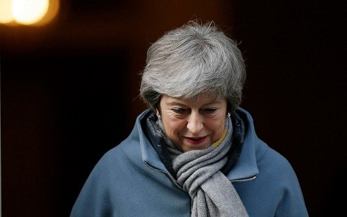 Watch how for two years Theresa May promised the UK would leave the EU on the March 29, 2019