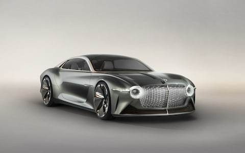 Bentley unveils self-driving concept car that will tell if you're in a bad mood and feed you
