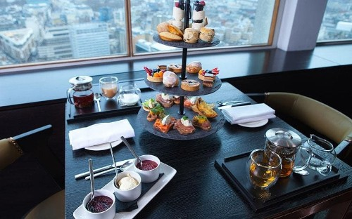 New high point for teas in London