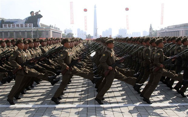 North Korea puts army on alert and warns US of 'horrible disaster'