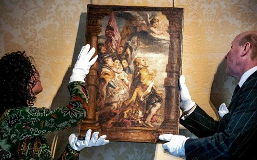 Rubens authenticated in Netherlands is first discovered in 19 years