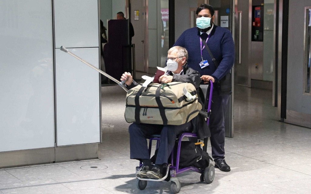 Letters: If the idea is to slow the spread of coronavirus, why are there no health checks at airports?