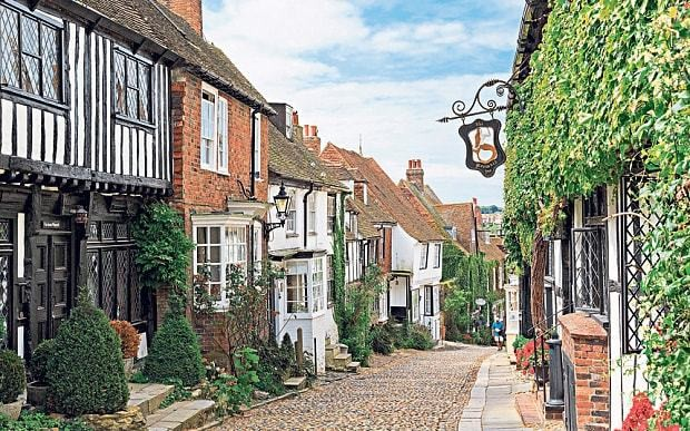 The prettiest streets in Britain