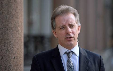 Theresa May's spy chiefs were briefed on explosive Chistopher Steele dossier before Donald Trump