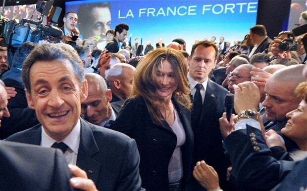 Nicolas Sarkozy exceeded spending limits in 2012 French presidential campaign