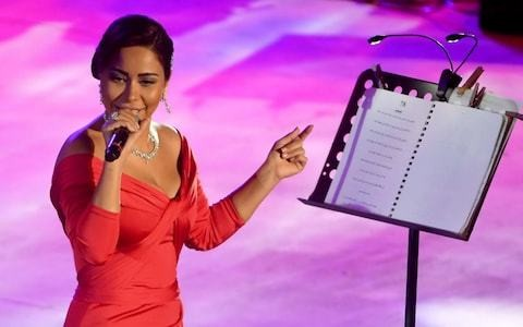 Egyptian singer banned after claiming lack of free speech