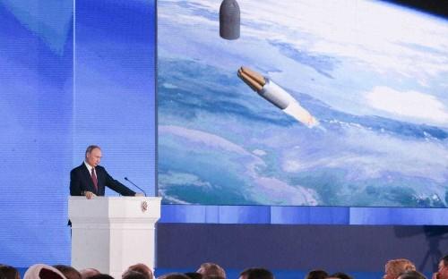 Putin's 'unlimited range' nuclear missile crashed after 22 miles, US intelligence sources claim