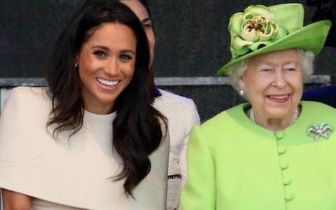Duchess of Sussex brings out Queen's inner-child: Body language expert analyses their first joint trip