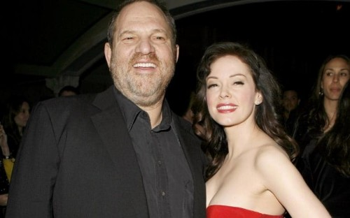 Harvey Weinstein scandal: Rose McGowan claims Amazon executive 'knew of rape' as Myleene Klass says she was offered 'sex contract'
