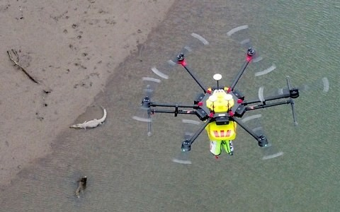 Amazon helps deliver crocodile-spotting drones in Australia