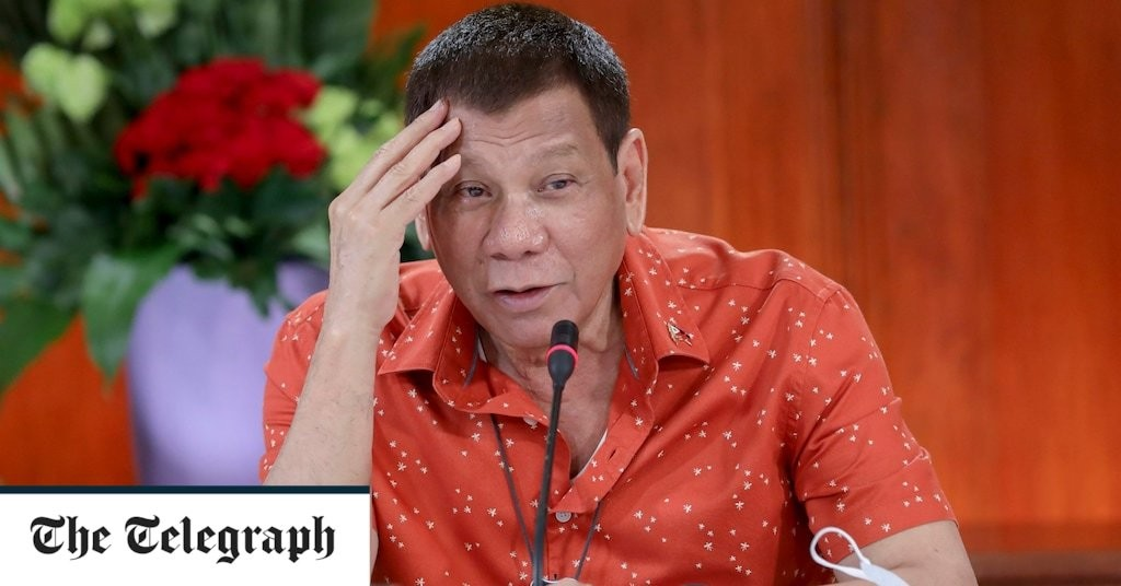 Philippines' president takes responsibility for thousands of deaths during drugs crackdown