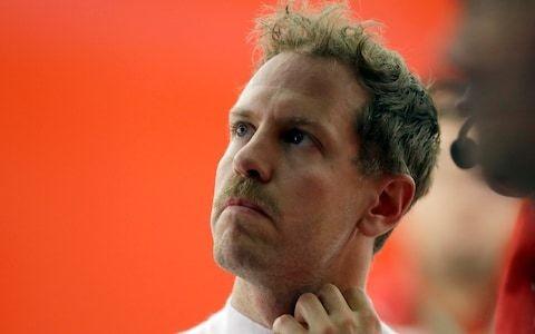 Nigel Mansell moustache helps Sebastian Vettel get back in the fast lane