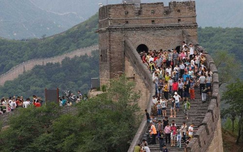 China to investigate damage caused to the Great Wall as a third of site reduced to rubble