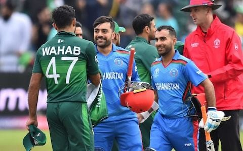 Afghanistan topple Pakistan in warm-up game to earn World Cup giant-killing credentials